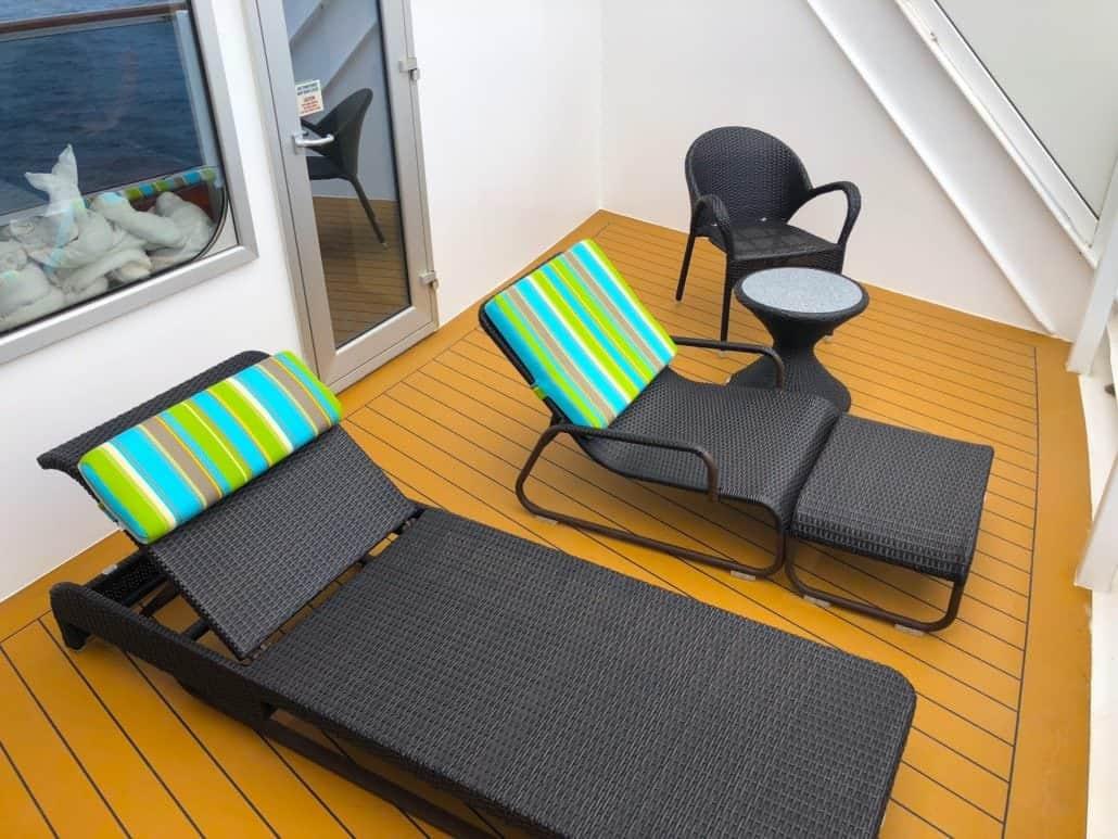 Aft balcony