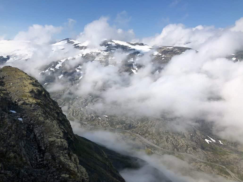 geiranger norway mountains
