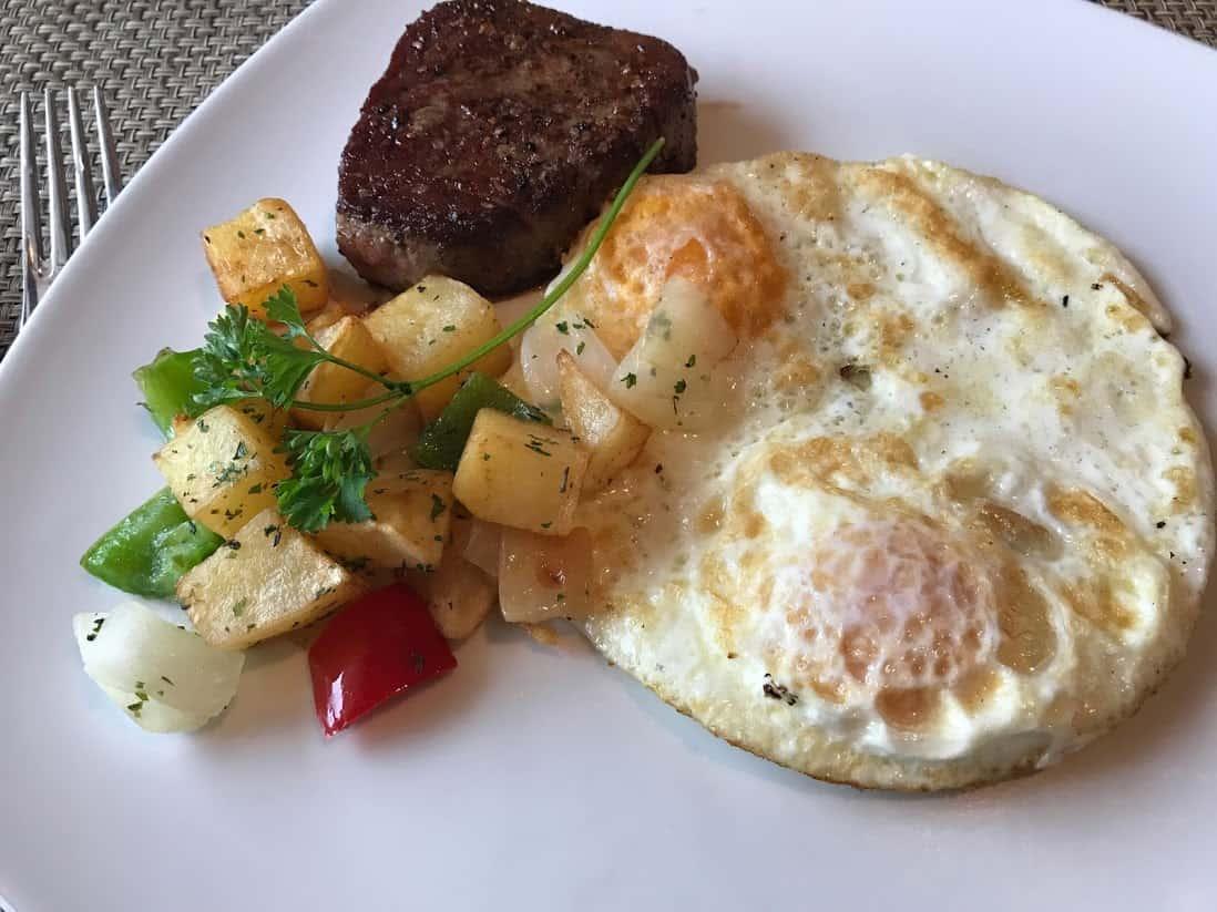 Breakfast on Norwegian Star
