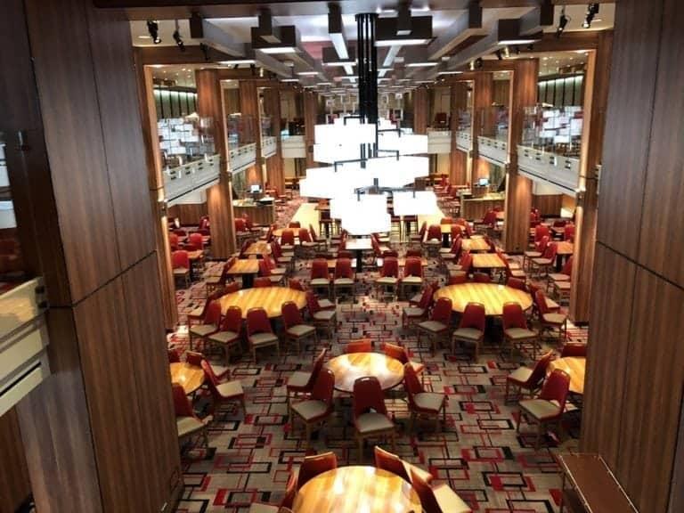 Meridian Dining Room carnival horizon