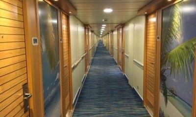 carnival sunshine hallway
