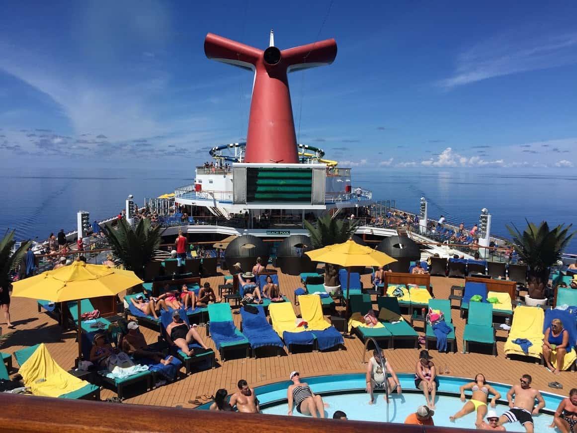 carnival sunshine lido deck