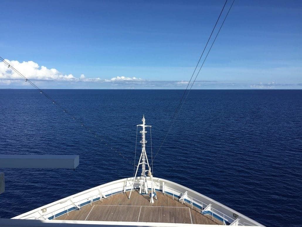 carnival sunshine forward deck