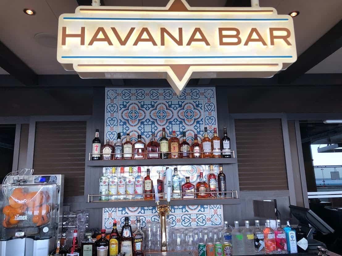 havana bar outside