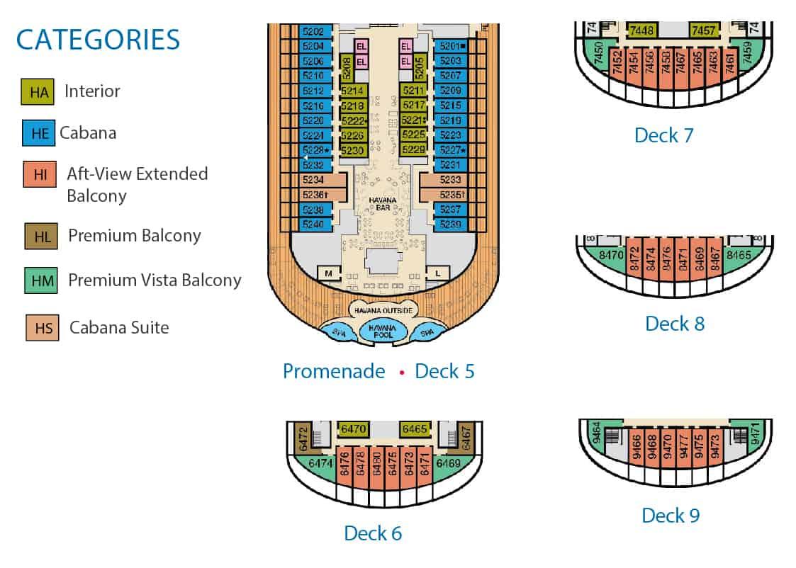 havana suite layout