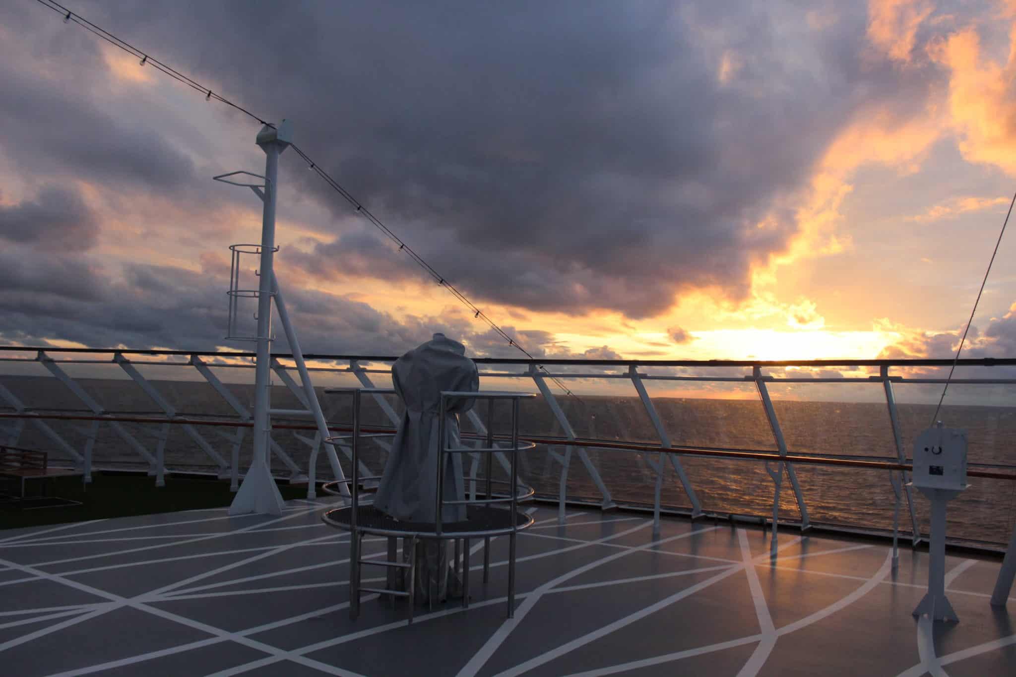 viking sky sunset