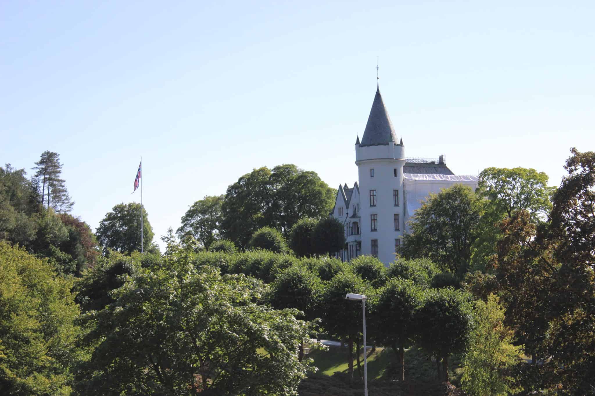 bergen norway royal residence