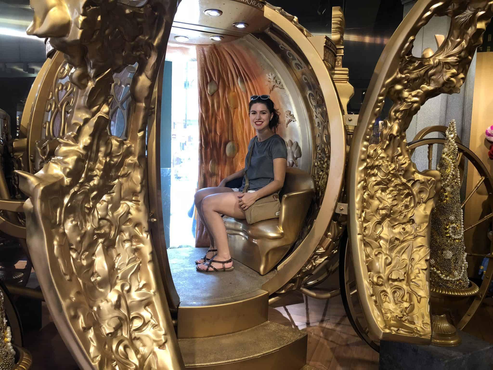 Cinderella's carriage Disney Store