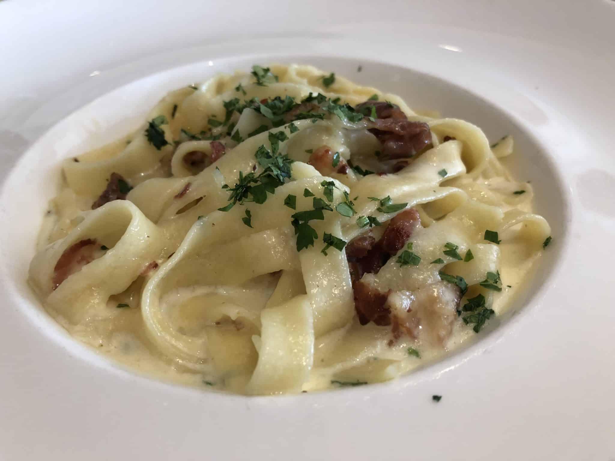 viking sky pasta dinner