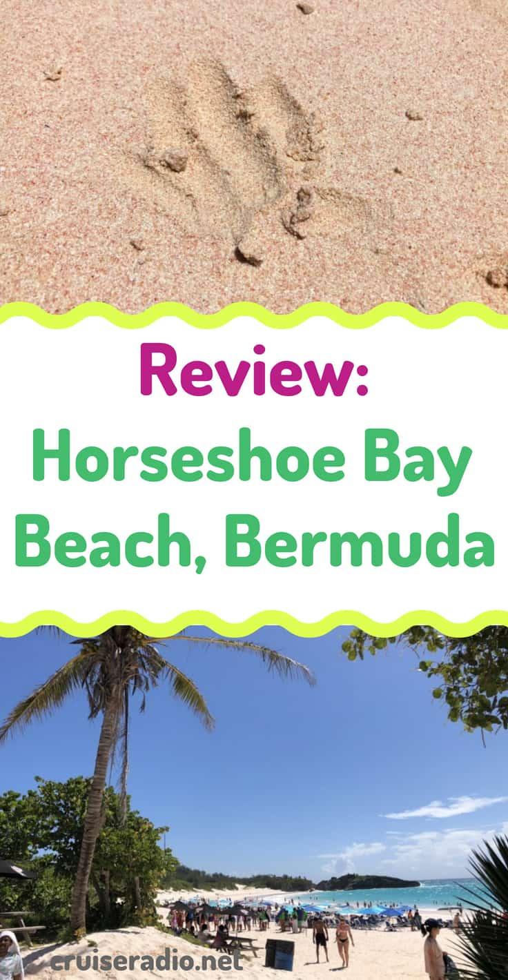 cruise bermuda horseshoe bay travel beach