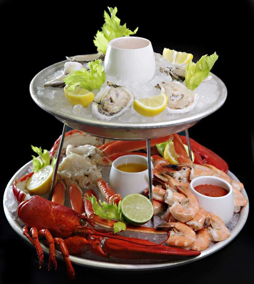 CARNIVAL CRUISE LINE SEAFOOD TOWER