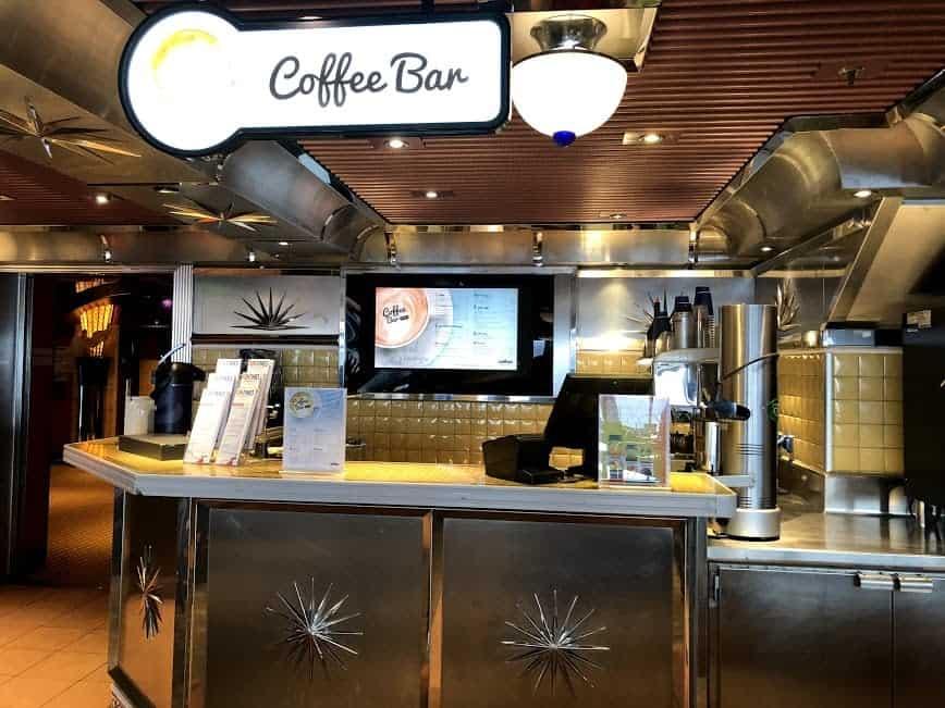 Carnival coffee bar