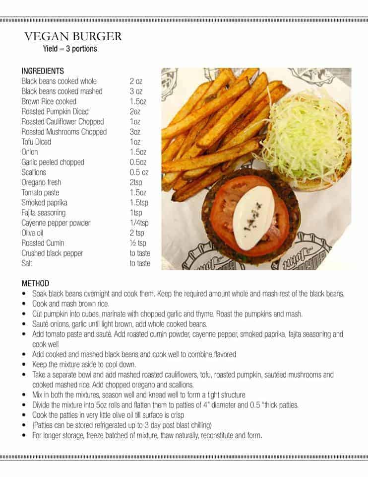 carnival guy's burger vegan recipe