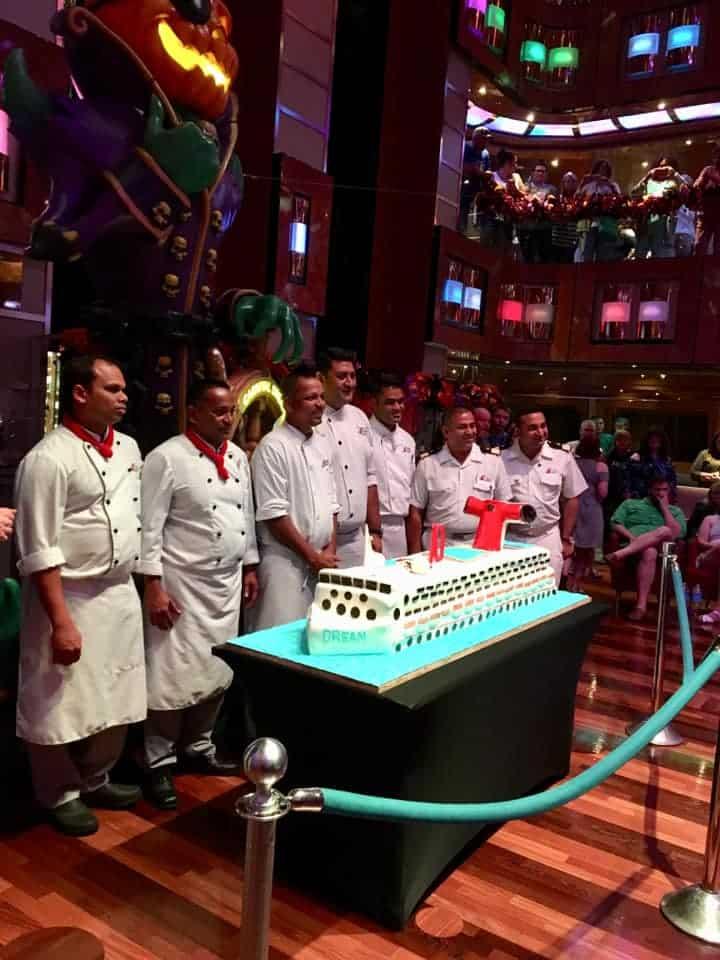Carnival Dream cake