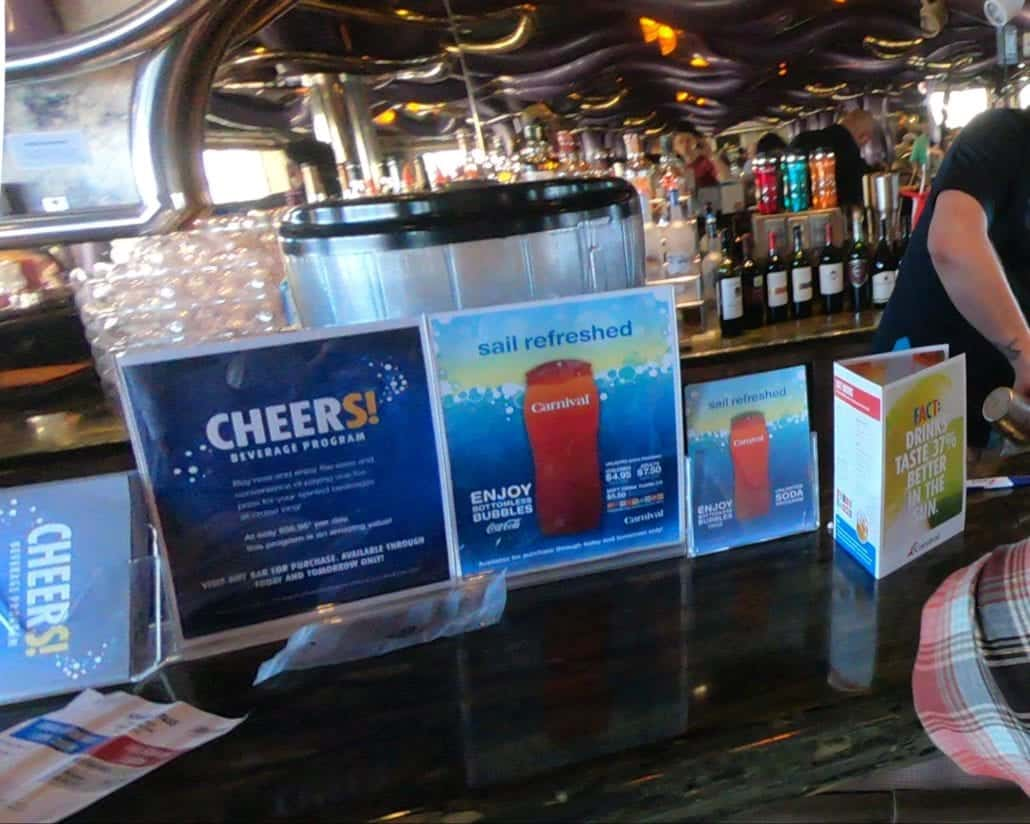 CARNIVAL CRUISE CHEERS PACKAGE