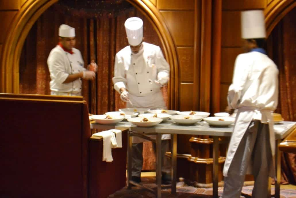 CARNIVAL CRUISE CHEF TABLE