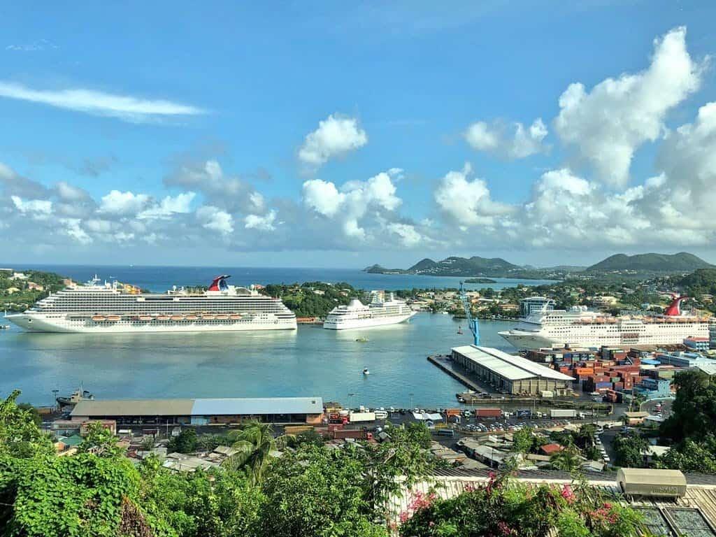 St. Lucia cruise port