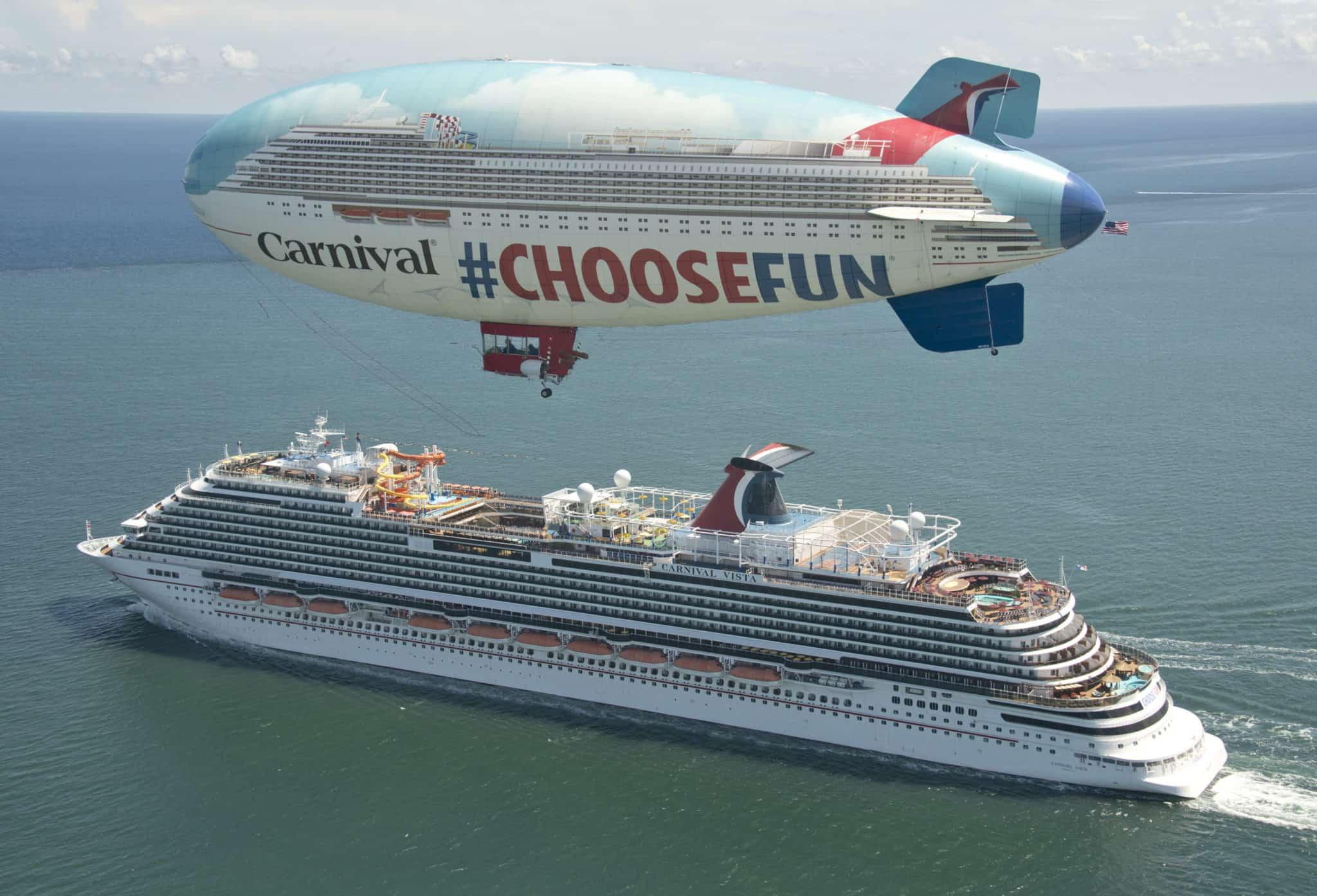Carnival Cruise Line >> Carnival Cruise Line Announces New Blimp Tour