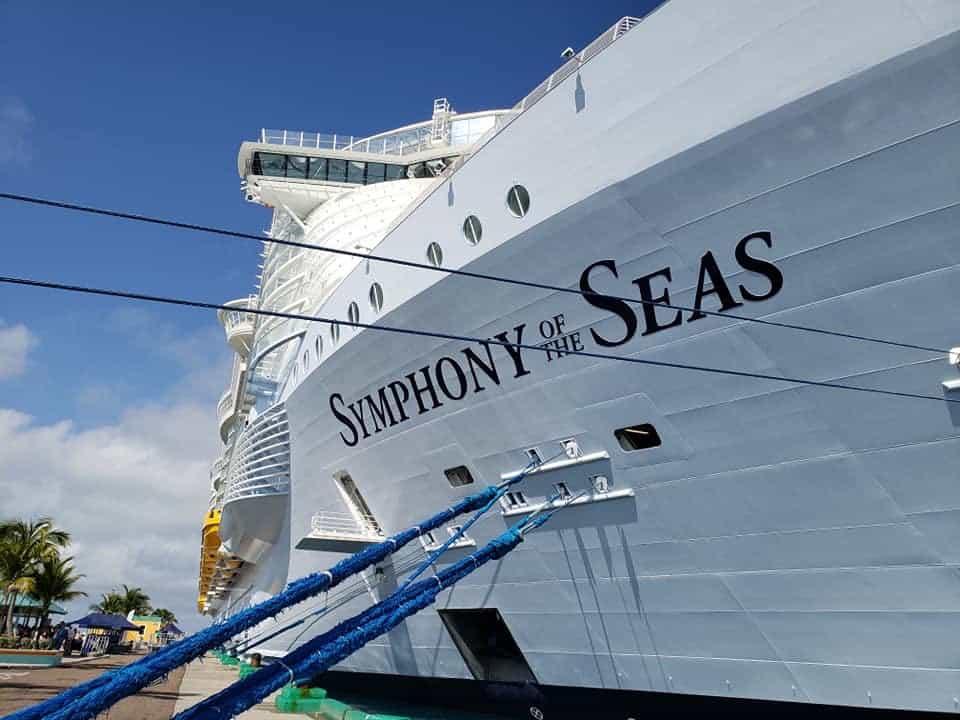 symphony of the seas nassau bahamas