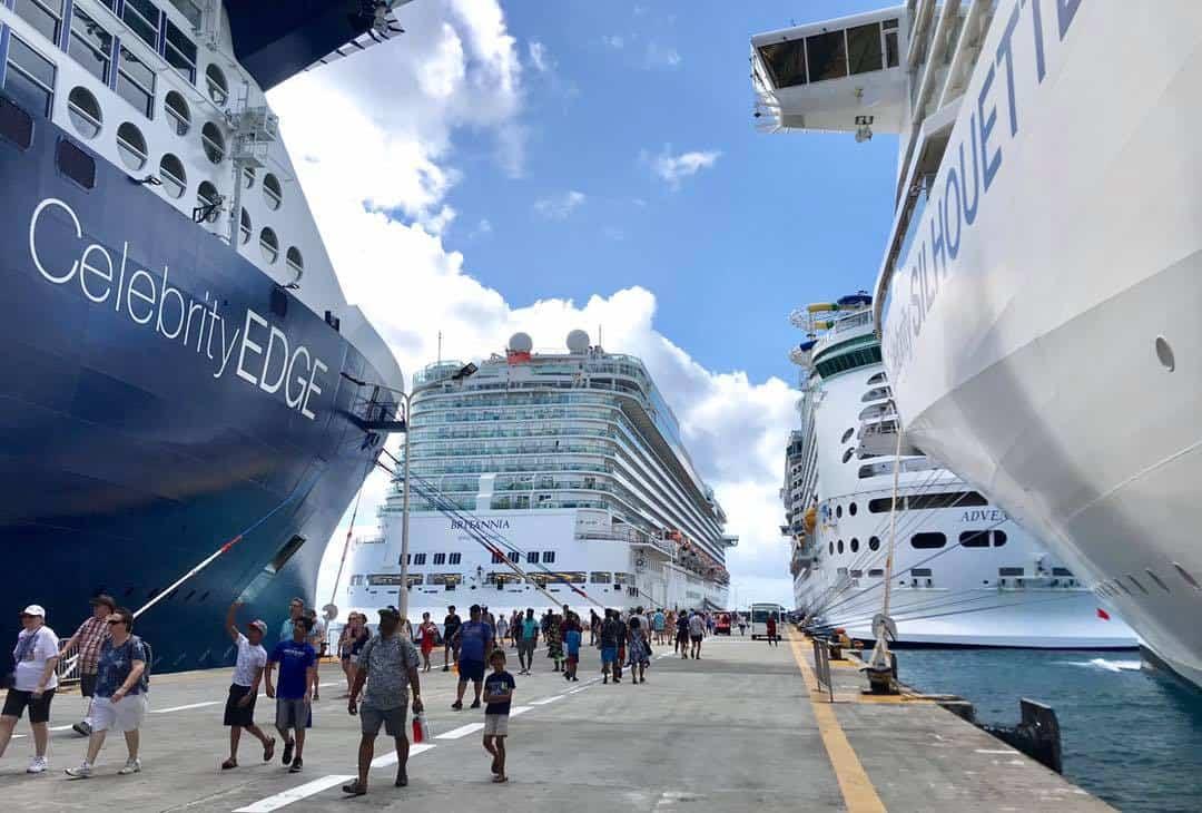 st maarten cruise ships