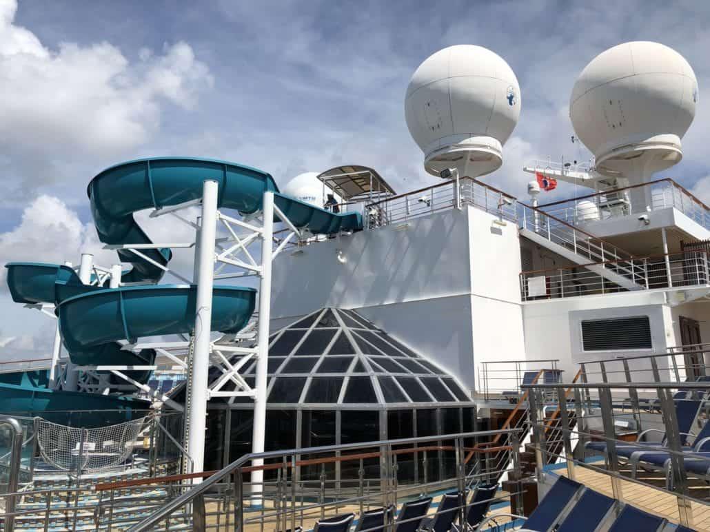 cruise ship internet radar