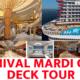 Carnival Mardi Gras Deck Tour 2019 [VIDEO]