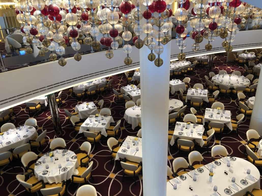 main dining room nieuw statendam