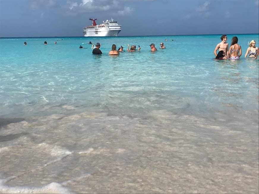 half moon cay bahamas carnival cruise line