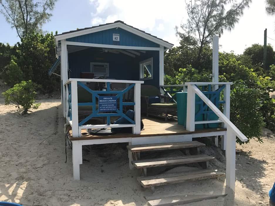 half moon cay cabana