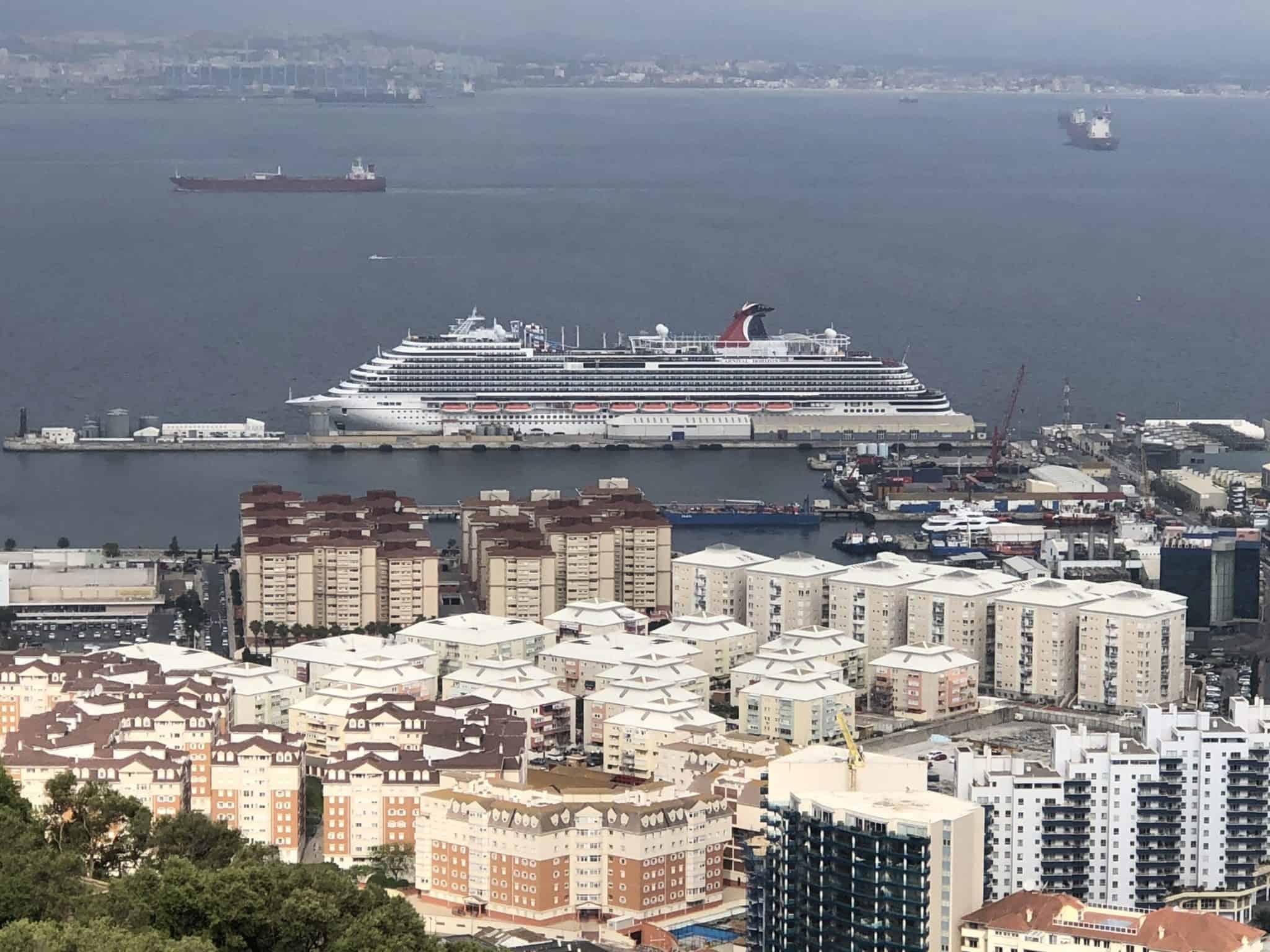 Carnival Horizon Gibraltar
