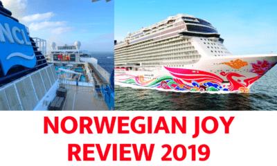 Norwegian Joy Cruise Ship Review