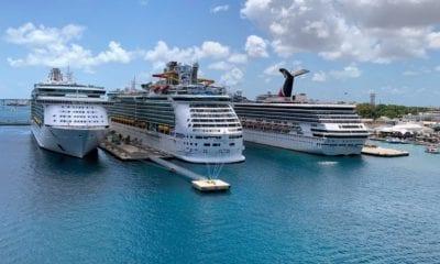 NASSAU BAHAMAS multiple ships