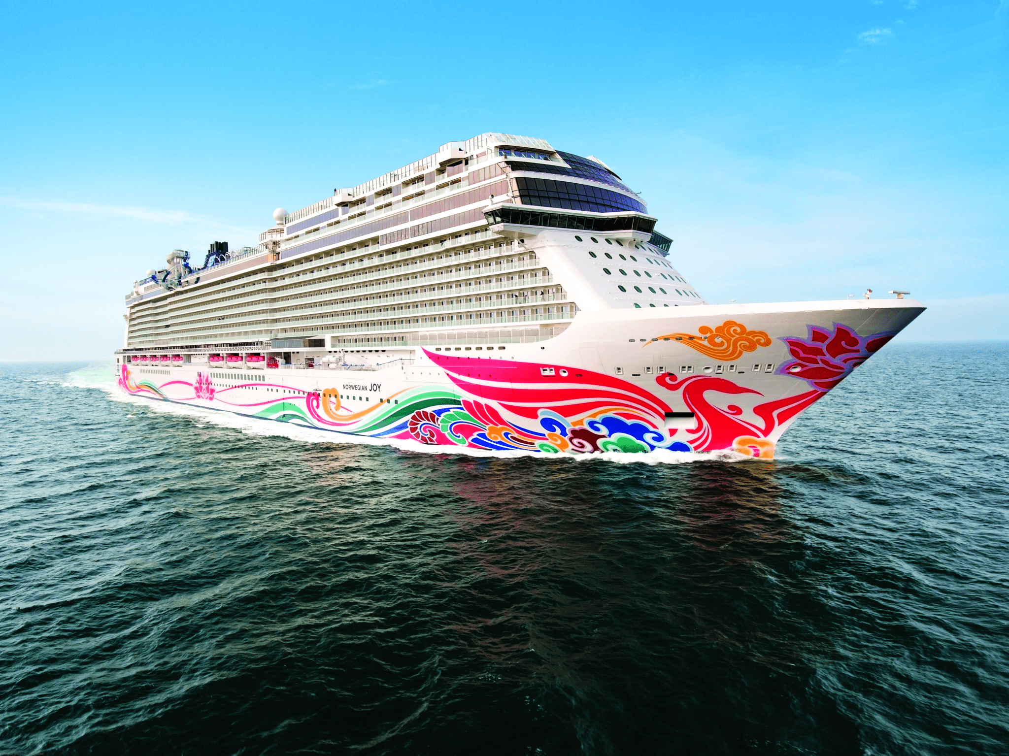 norwegian joy sea trials