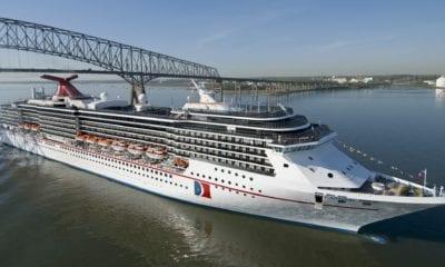 Carnival Cruise Line Celebrates Major Milestone in Baltimore