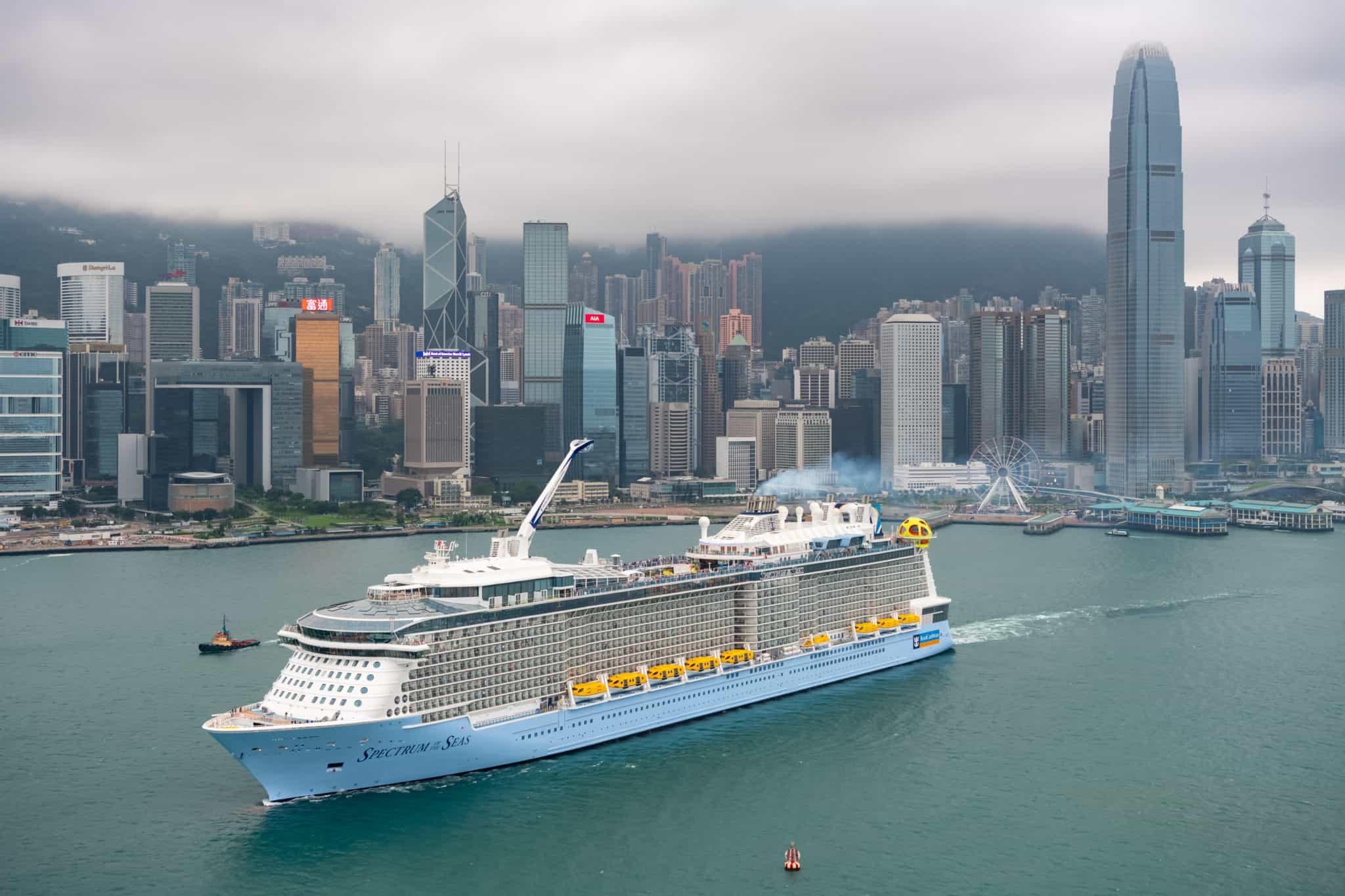 Spectrum of the Seas Shangai China
