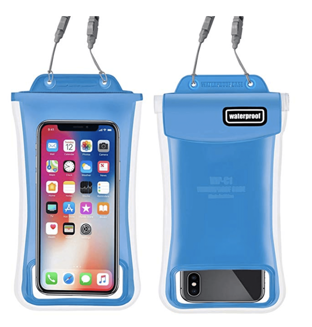 waterproof phone pouch things to pack for cruise