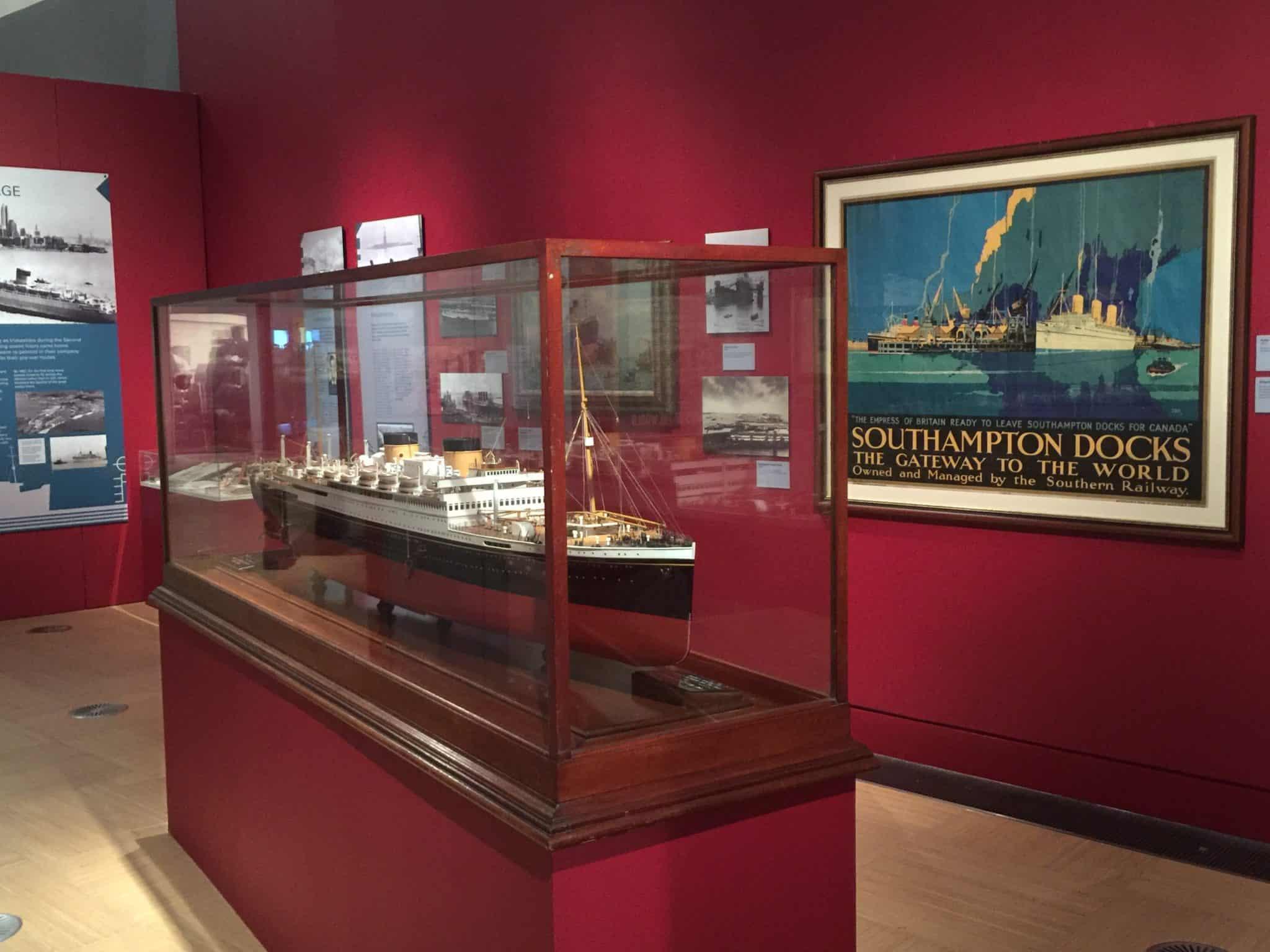 seacity museum southampton england uk titanic