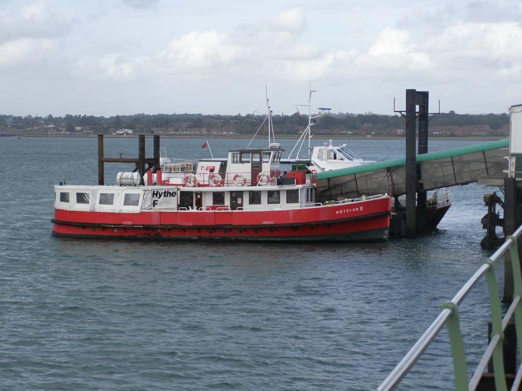 hythe ferry southampton uk england