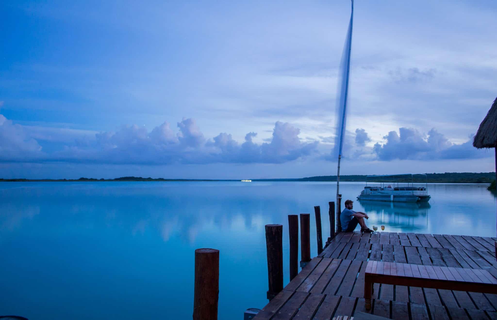 bacalar lagoon quintana roo mexico costa maya