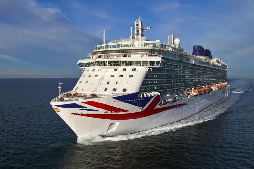 P&O cruises ship