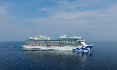 sky princess cruise ship exterior