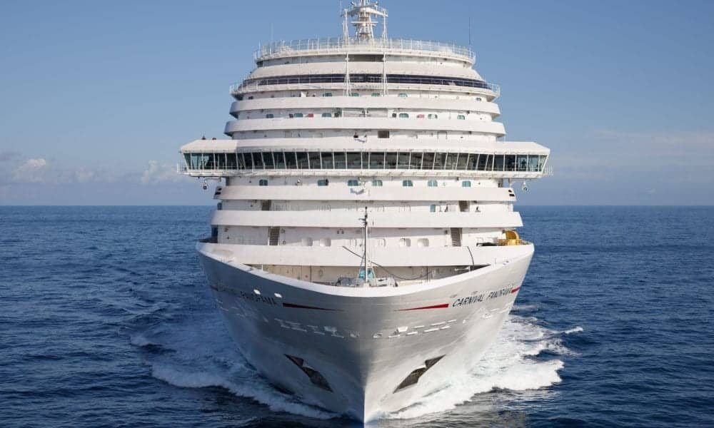 New Carnival Cruise Ship Heads to Asia to Disembark Crew