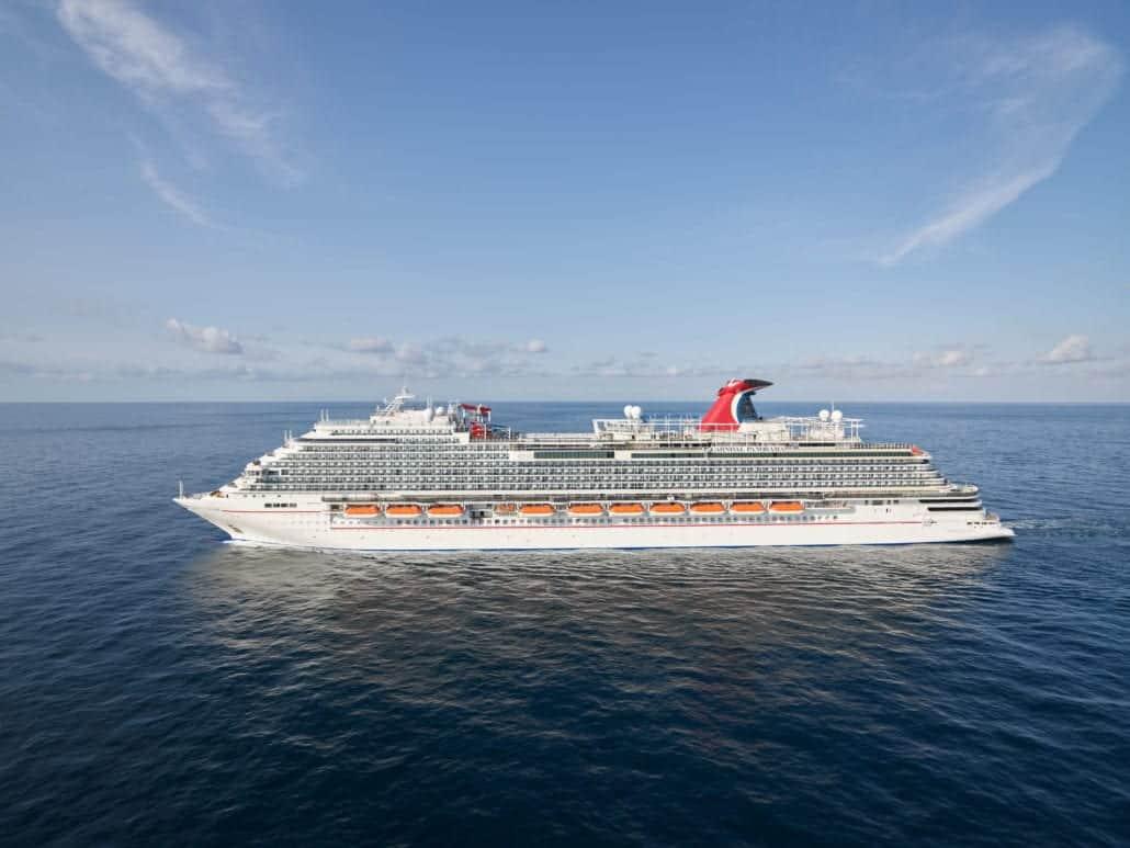 Carnival's Newest Ship Hits Major Milestone