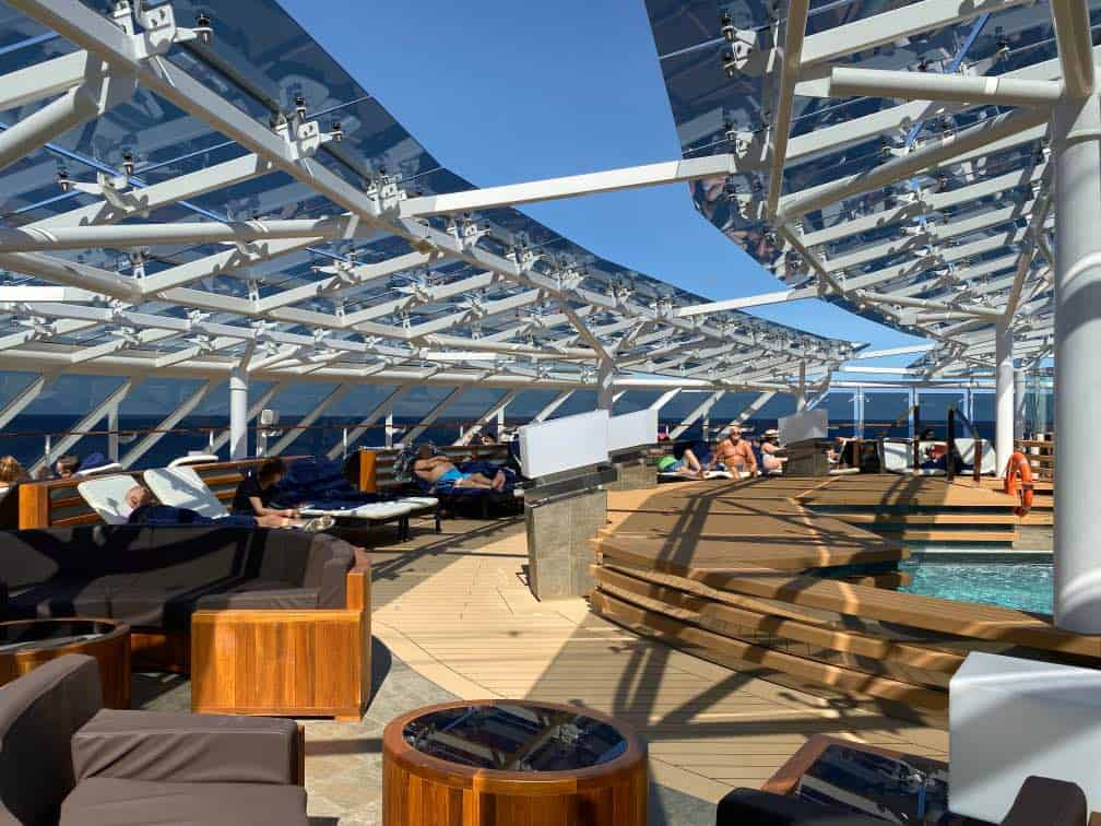 MSC Meraviglia Outdoor Pool Yacht Club