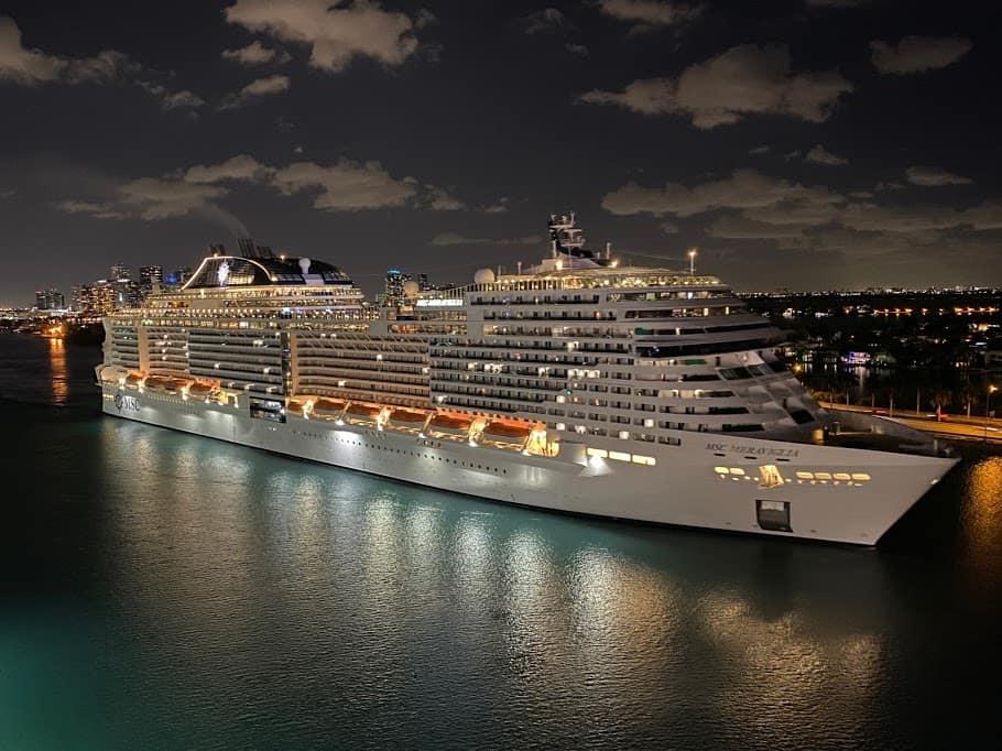 Port Miami MSC Meraviglia