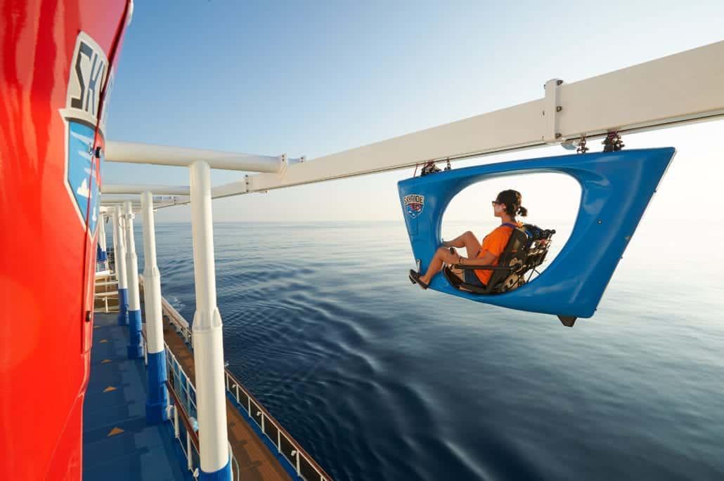 carnival cruise line sky ride