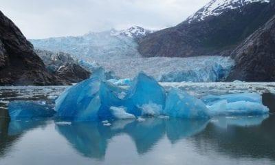 Cruising Sawyer Glacier in Alaska