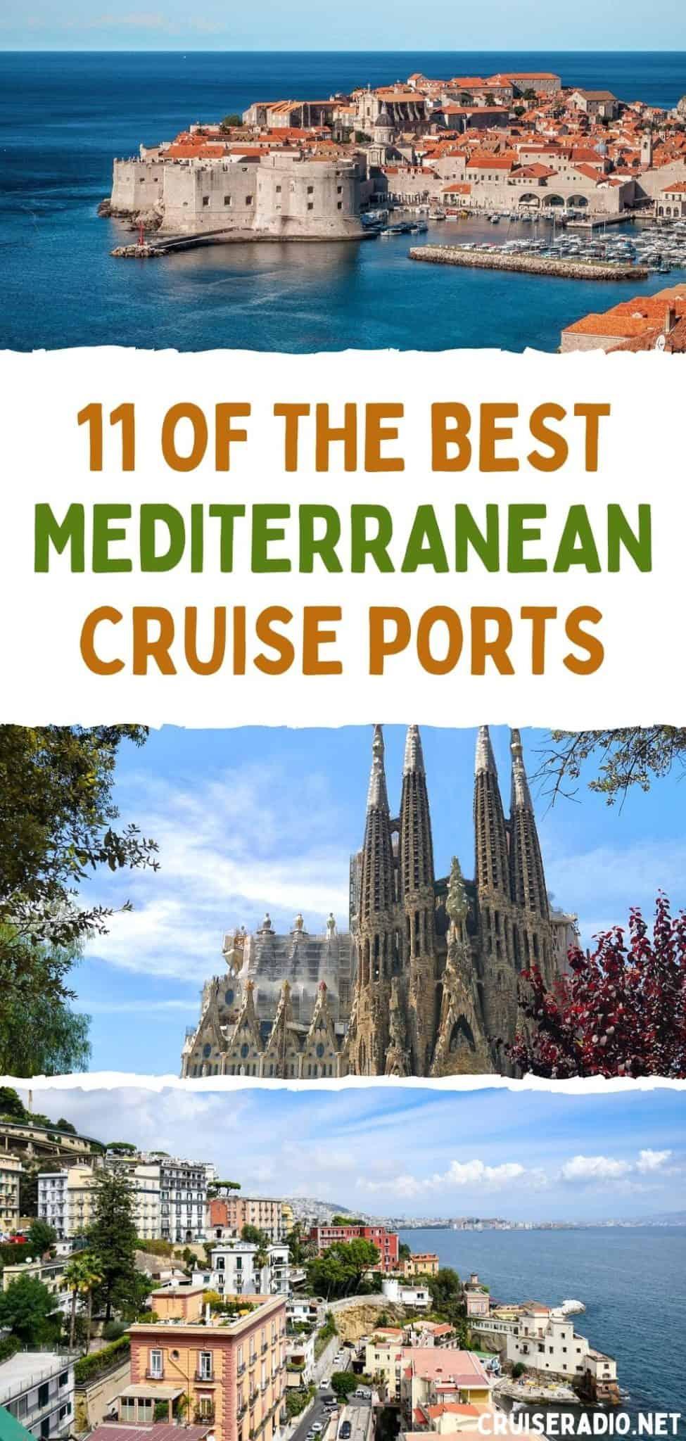 11 of the best mediterranean cruise ports