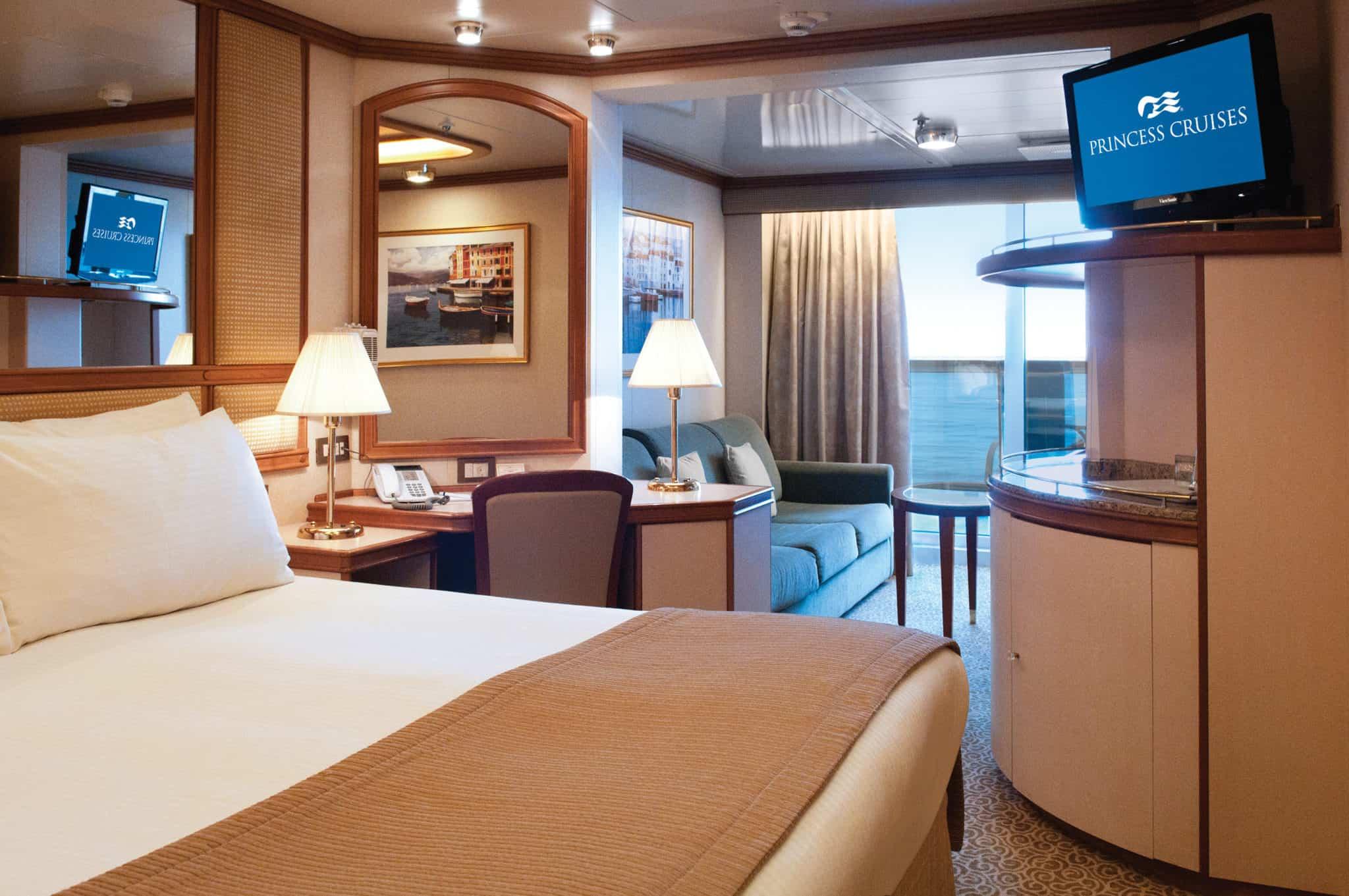 crown suite princess cruises