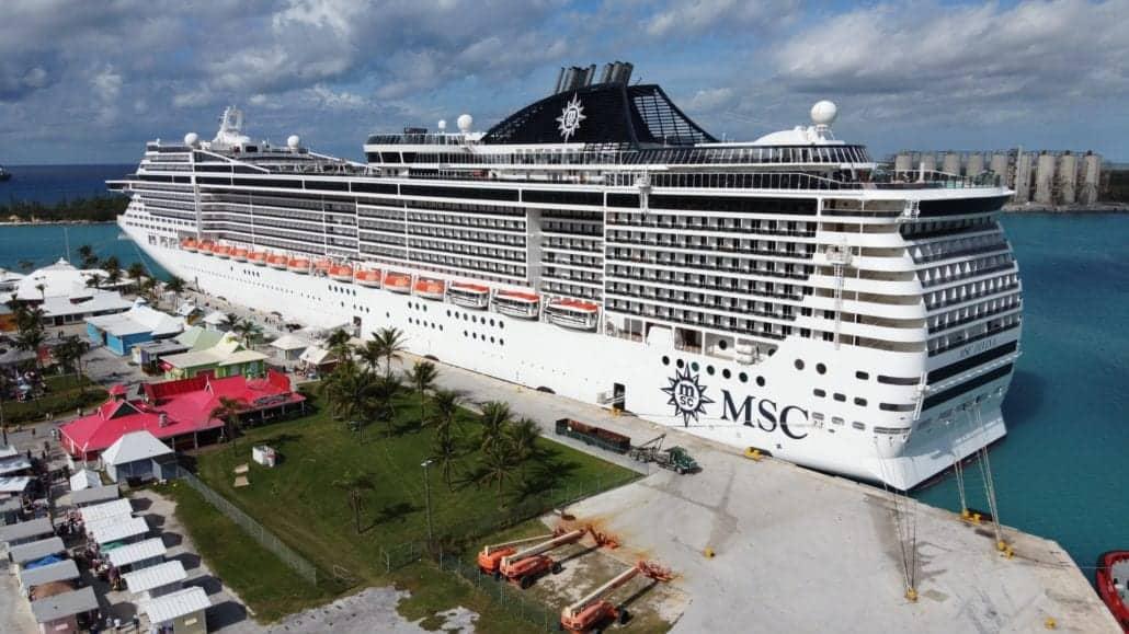 MSC Divina Freeport Bahamas